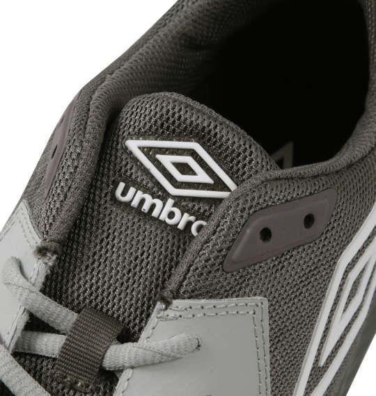 大きいサイズ メンズ UMBRO スニーカー UMBクロスTRクラブ シューズ 靴  グレー 1140-9280-3 29 30 31