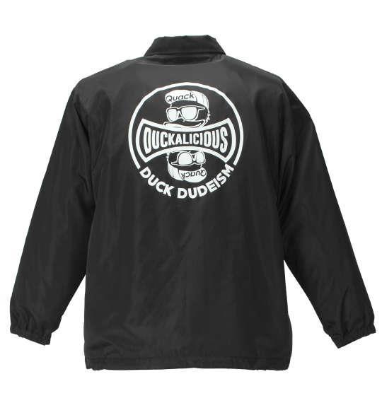 大きいサイズ メンズ b-one-soul DUCK DUDE コーチジャケット アウター ジャケット ブラック 1153-9150-2 3L 4L 5L 6L