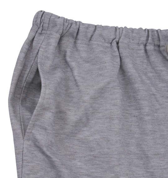 大きいサイズ メンズ marie claire homme ダンボール ボーダー 長袖 Tシャツ 上下セット セットアップ ネイビー × モクグレー 1159-9102-2 3L 4L 5L 6L 8L
