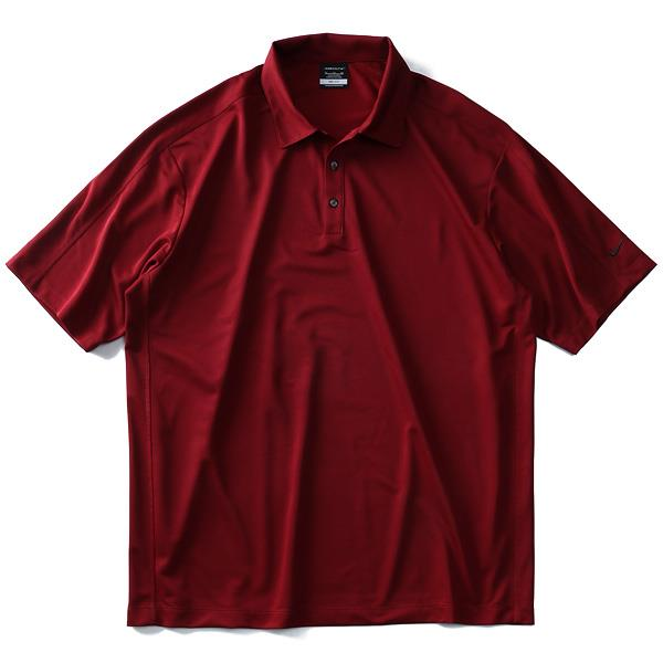 大きいサイズ メンズ NIKE GOLF ナイキ ゴルフ 無地 半袖 スポーツ ポロシャツ DRI-FIT USA 直輸入 266998