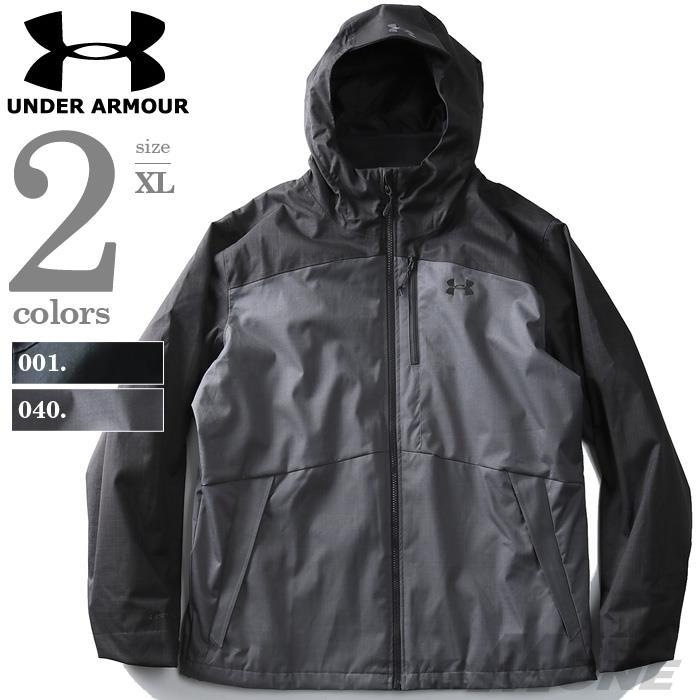 大きいサイズ メンズ UNDER ARMOUR アンダーアーマー 長袖 3WAY フーデッド ジャケット スポーツウェア USA 直輸入 1316018