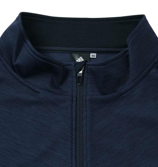 大きいサイズ メンズ adidas ウォームアップ ジャケット ネイビー 1176-9100-1 3XO 4XO 5XO 6XO 7XO 8XO