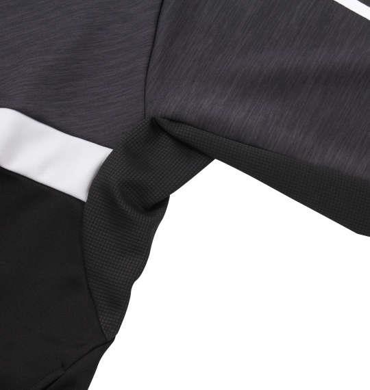 大きいサイズ メンズ adidas ウォームアップ ジャケット ブラック 1176-9100-2 3XO 4XO 5XO 6XO 7XO 8XO