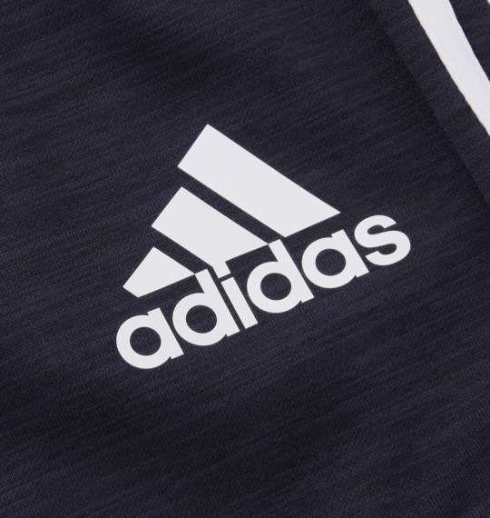 大きいサイズ メンズ adidas ウォームアップ ハーフパンツ ネイビー 1176-9102-1 3XO 4XO 5XO 6XO 7XO 8XO