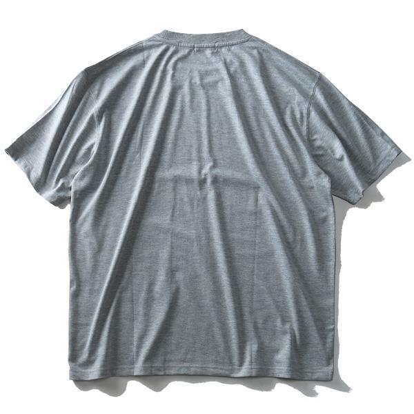 大きいサイズ メンズ Louis Chavlon プリント 半袖 Tシャツ 2019fk-bara f19-014