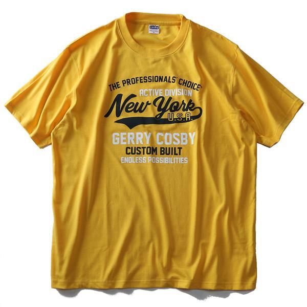 大きいサイズ メンズ cosby コスビー プリント 半袖 Tシャツ 2019fk-bara f19-019