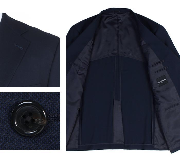 大きいサイズ メンズ DANIEL DODD アクティブ ストレッチ 2ツ釦 スーツ ソロテックス使用 ビジネススーツ リクルートスーツ 春夏新作 az46w141