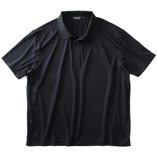 大きいサイズ メンズ LINKATION DRY 切替 半袖 ポロシャツ 吸汗速乾 春夏新作 アスレジャー スポーツウェア la-pr190296