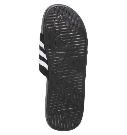 大きいサイズ メンズ adidas サンダル アディサージ コアブラック 1140-9200-2 30.5 31.5