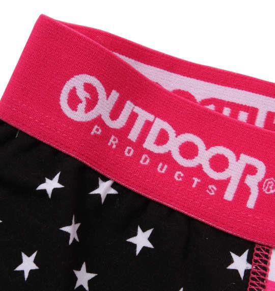 大きいサイズ メンズ OUTDOOR PRODUCTS スターボーダー ボクサーパンツ ブラック 1149-9223-2 3L 4L 5L 6L
