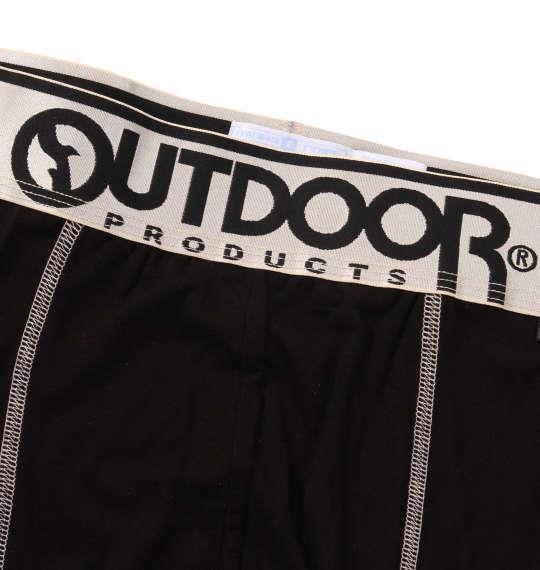 大きいサイズ メンズ OUTDOOR PRODUCTS メタルゴムブラック ボクサーパンツ ゴールド 1149-9226-1 3L 4L 5L 6L