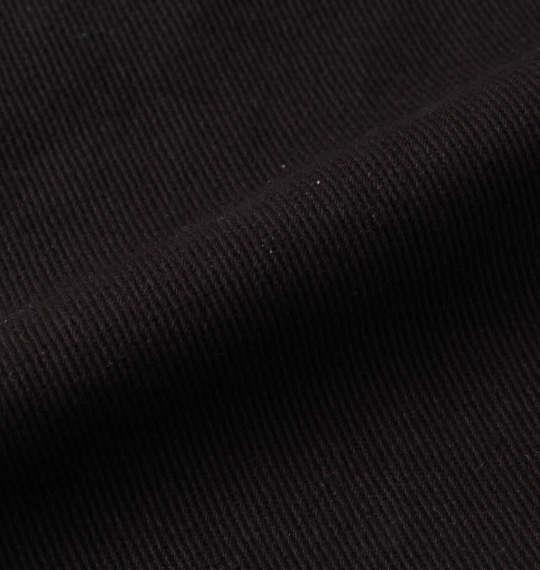 大きいサイズ メンズ 絡繰魂抜刀娘 凛月光桜刺繍 パンツ ブラック 1154-9270-1 100 110 120 130