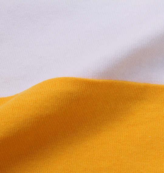 大きいサイズ メンズ MODISH GAZE おもしろ切替 半袖 Tシャツ ホワイト 1158-9282-1 3L 4L 5L 6L