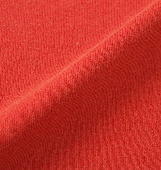 大きいサイズ メンズ in the attic エンボス パッチワーク パウダー加工 半袖 Tシャツ レッド 1158-9291-1 3L 4L 5L 6L