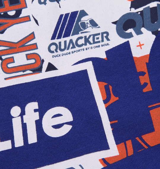 大きいサイズ メンズ b-one-soul DUCK DUDE ビッグフェイス 半袖 Tシャツ ブルー 1158-9552-1 3L 4L 5L 6L