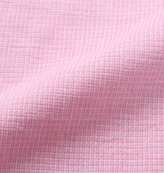 大きいサイズ メンズ H by FIGER パナマ織 B.D 半袖 シャツ ピンク 1167-9222-4 3L 4L 5L 6L 8L