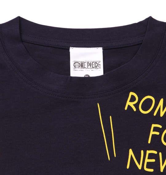 大きいサイズ メンズ ONE PIECE 半袖 Tシャツ ネイビー 1168-9210-2 3L 4L 5L 6L 8L