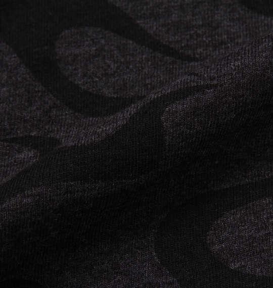 大きいサイズ メンズ ONE PIECE 総柄 半袖 Tシャツ チャコール杢 1168-9211-2 3L 4L 5L 6L 8L
