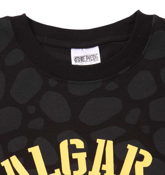 大きいサイズ メンズ ONE PIECE 総柄 半袖 Tシャツ ブラック 1168-9212-2 3L 4L 5L 6L 8L