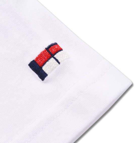 大きいサイズ メンズ H by FIGER 半袖 Tシャツ ホワイト 1168-9230-1 3L 4L 5L 6L 8L