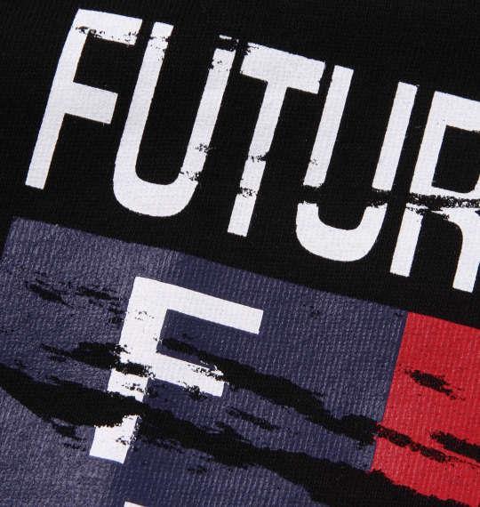 大きいサイズ メンズ H by FIGER 半袖 Tシャツ ブラック 1168-9230-2 3L 4L 5L 6L 8L