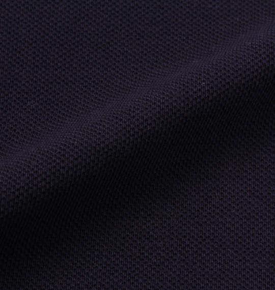 大きいサイズ メンズ SHELTY 鹿の子 ボタニカル 切替 半袖 ポロシャツ ネイビー 1168-9272-2 3L 4L 5L 6L 8L
