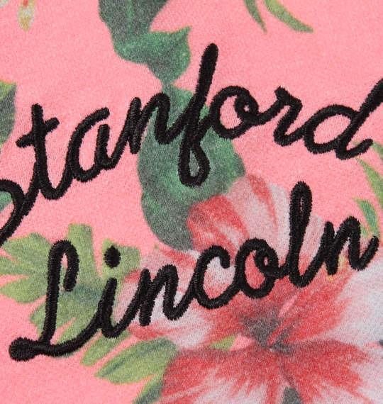 大きいサイズ メンズ SHELTY 鹿の子 ボタニカル 総柄 プリント 半袖 ポロシャツ ピンク 1168-9273-1 3L 4L 5L 6L 8L