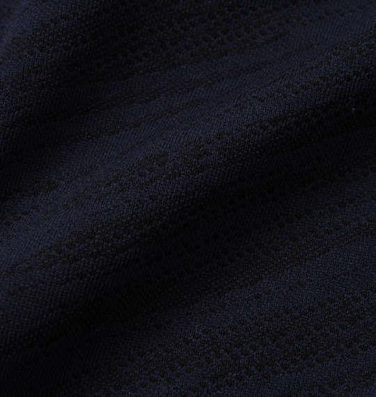 大きいサイズ メンズ LE COQ SPORTIF ドライ ジャガード ニット ハーフパンツ ネイビー 1174-9211-1 2L 3L 4L 5L 6L