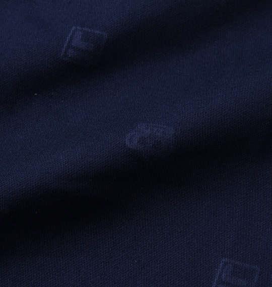 大きいサイズ メンズ FILA GOLF 飛び柄 エンボス ストレッチ ツイル クロップドパンツ ネイビー 1174-9241-2 100 105 110 115 120 130