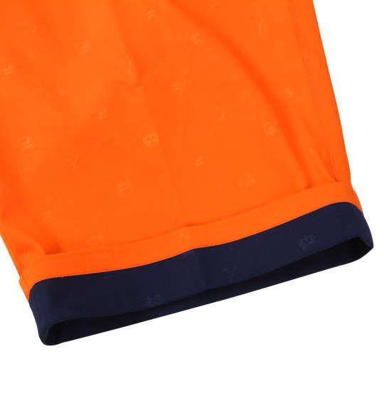 大きいサイズ メンズ FILA GOLF 飛び柄 エンボス ストレッチ ツイル クロップドパンツ オレンジ 1174-9241-3 100 105 110 115 120 130