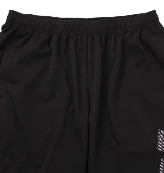 大きいサイズ メンズ adidas ビッグロゴ ハーフパンツ ブラック 1174-9270-2 3XO 4XO 5XO 6XO 7XO 8XO