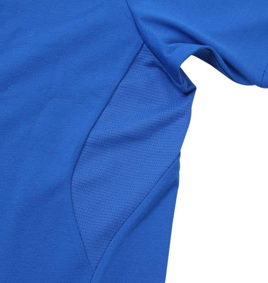 大きいサイズ メンズ DESCENTE サンスクリーン ハイブリッド 半袖 Tシャツ ライトブルー 1178-9240-1 3L 4L 5L 6L