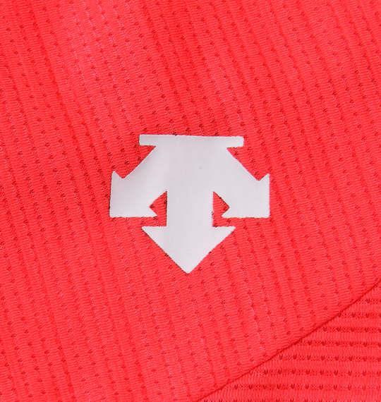 大きいサイズ メンズ DESCENTE ブリーズプラス 半袖 Tシャツ オレンジ杢 1178-9241-2 3L 4L 5L 6L