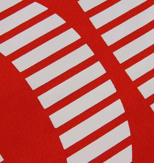 大きいサイズ メンズ LE COQ SPORTIF ソフト ダブル メッシュ 半袖 Tシャツ レッド 1178-9261-2 2L 3L 4L 5L 6L