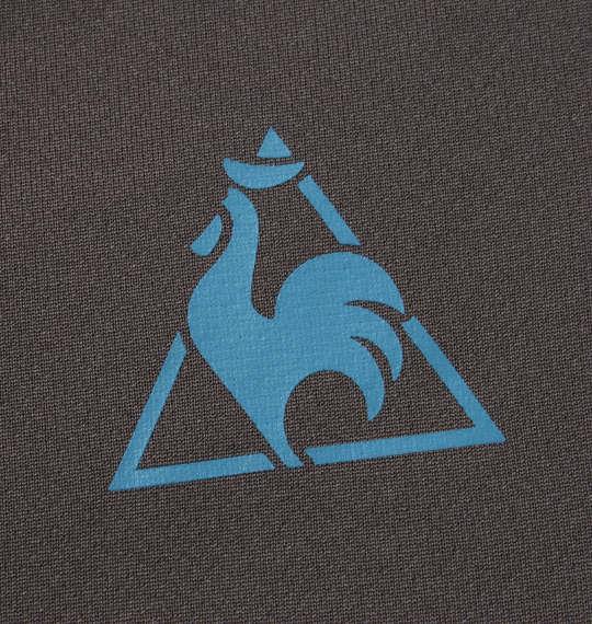 大きいサイズ メンズ LE COQ SPORTIF ソフト ダブル メッシュ 半袖 ポロシャツ チャコール 1178-9262-4 2L 3L 4L 5L 6L