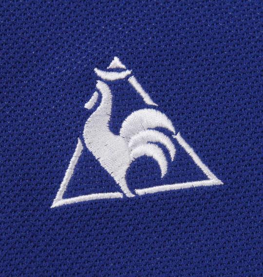 大きいサイズ メンズ LE COQ SPORTIF 3D 鹿の子 半袖 ポロシャツ カーゴブルー 1178-9263-3 2L 3L 4L 5L 6L
