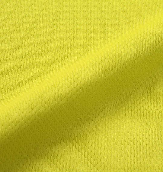大きいサイズ メンズ LE COQ SPORTIF エアロ ドライ ニット ハーフジップ 半袖 シャツ グリーンイエロー 1178-9265-5 2L 3L 4L 5L 6L