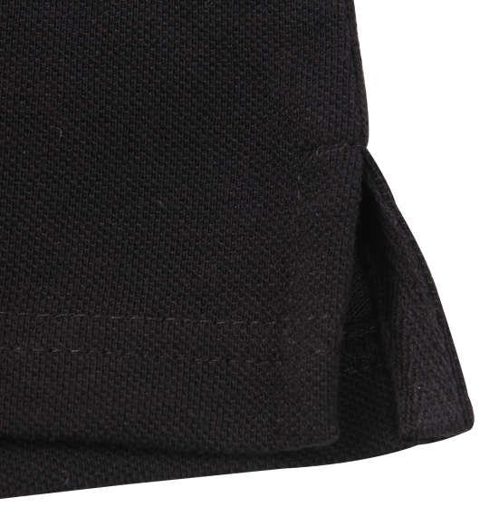 大きいサイズ メンズ PLAY BOY 鹿の子 プリント & 刺繍 半袖 ポロシャツ ブラック 1178-9286-2 3L 4L 5L 6L 8L