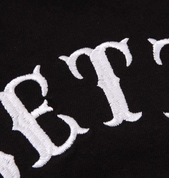 大きいサイズ メンズ BETTY BOOP プリント & 刺繍 ハート & ローズ 半袖 Tシャツ ブラック 1178-9520-2 3L 4L 5L 6L 8L