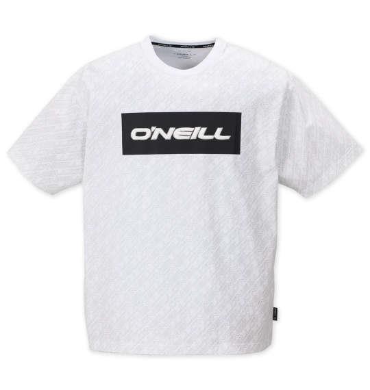 大きいサイズ メンズ O'NEILL 半袖 Tシャツ ホワイト 1178-9215-1 3L 4L 5L 6L