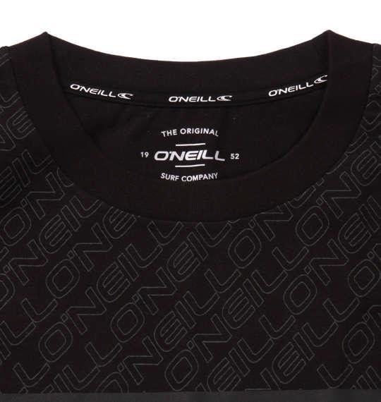 大きいサイズ メンズ O'NEILL 半袖 Tシャツ ブラック 1178-9215-2 3L 4L 5L 6L