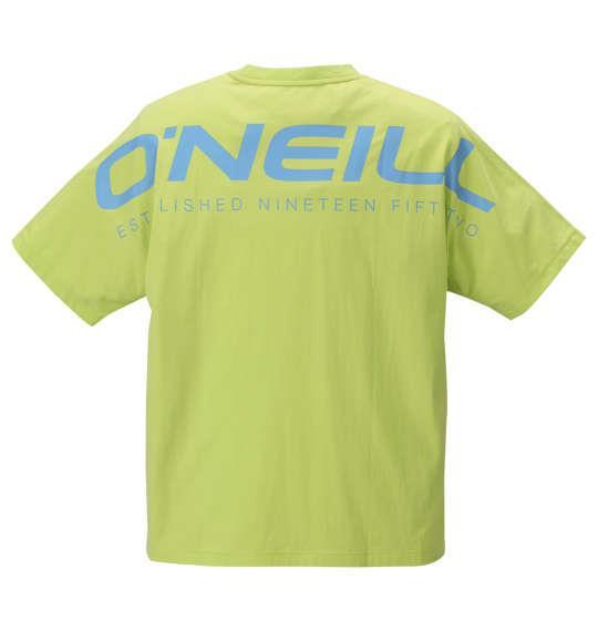 大きいサイズ メンズ O'NEILL 半袖 Tシャツ ライム 1178-9216-2 3L 4L 5L 6L