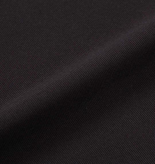 大きいサイズ メンズ DESCENTE サンスクリーン 半袖 ポロシャツ ブラック 1178-9242-2 3L 4L 5L 6L