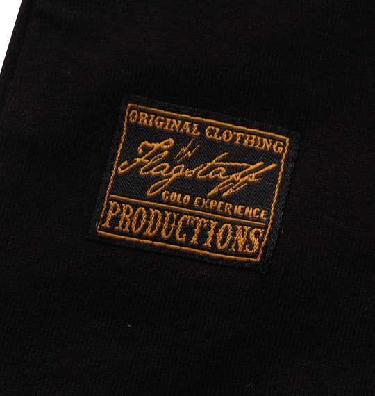 大きいサイズ メンズ FLAGSTAFF × PEANUTS スヌーピーコラボ 半袖 Tシャツ ブラック 1178-9535-2 3L 4L 5L 6L