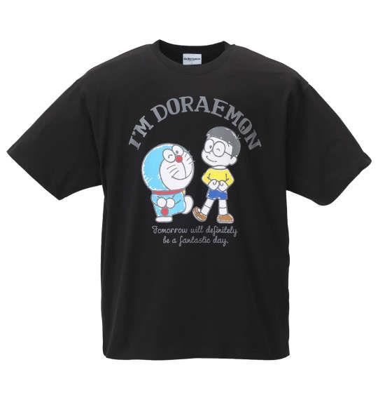 大きいサイズ メンズ I'm Doraemon 半袖 Tシャツ ブラック 1178-9562-1 3L 4L 5L 6L 8L