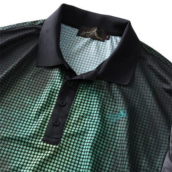 大きいサイズ メンズ Bowerbirds Works 吸汗速乾 半袖 ゴルフ ポロシャツ 春夏新作 azpr-1902107