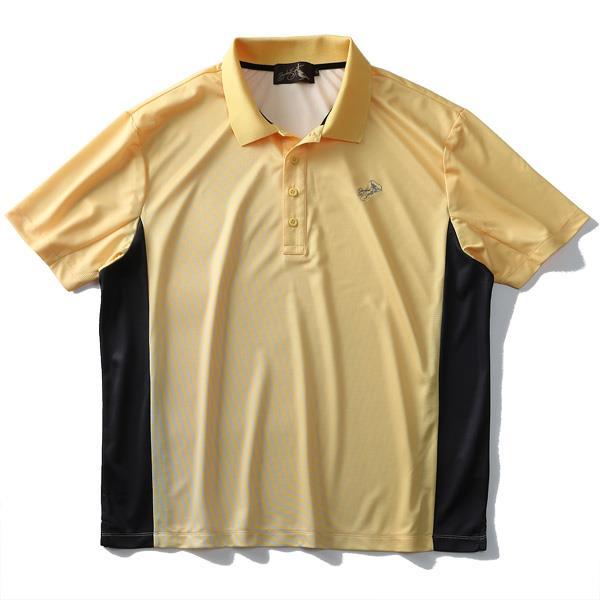 【golf1】大きいサイズ メンズ Bowerbirds Works 吸汗速乾 半袖 ゴルフ ポロシャツ azpr-1902110