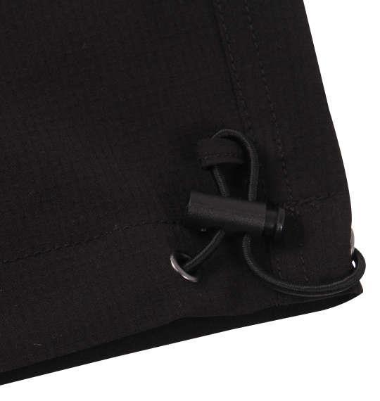 大きいサイズ メンズ OUTDOOR PRODUCTS ストレッチ クロップド カーゴ パンツ ブラック 1154-9240-2 3L 4L 5L 6L 7L 8L