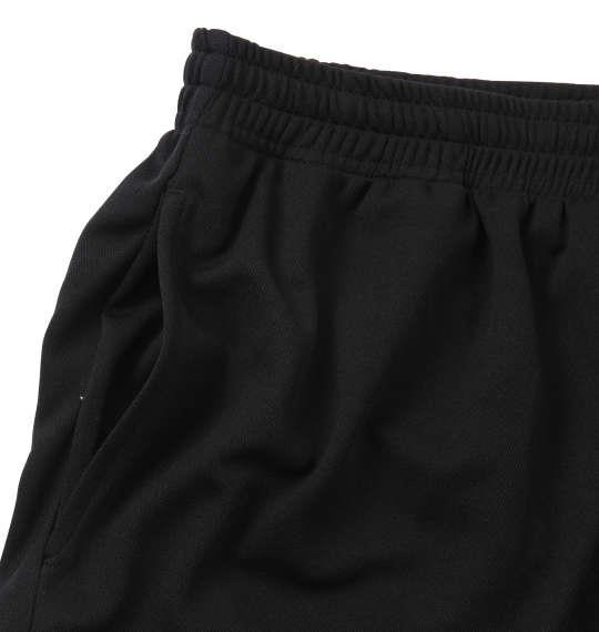大きいサイズ メンズ 豊天 動けるぽっちゃり 半袖 Tシャツ +ハーフパンツ ブラック 1158-9509-1 3L 4L 5L 6L