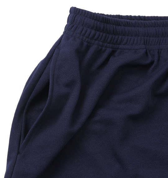 大きいサイズ メンズ 豊天 痩せたら負け 半袖 Tシャツ +ハーフパンツ ネイビー 1158-9510-1 3L 4L 5L 6L